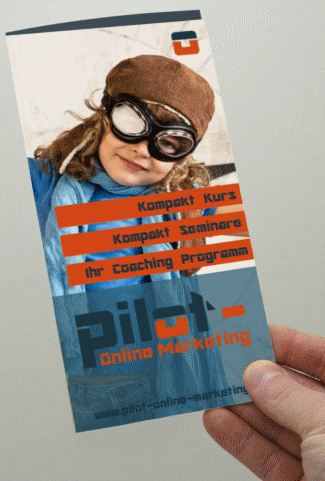 Flyer Pilot-Online-Marketing